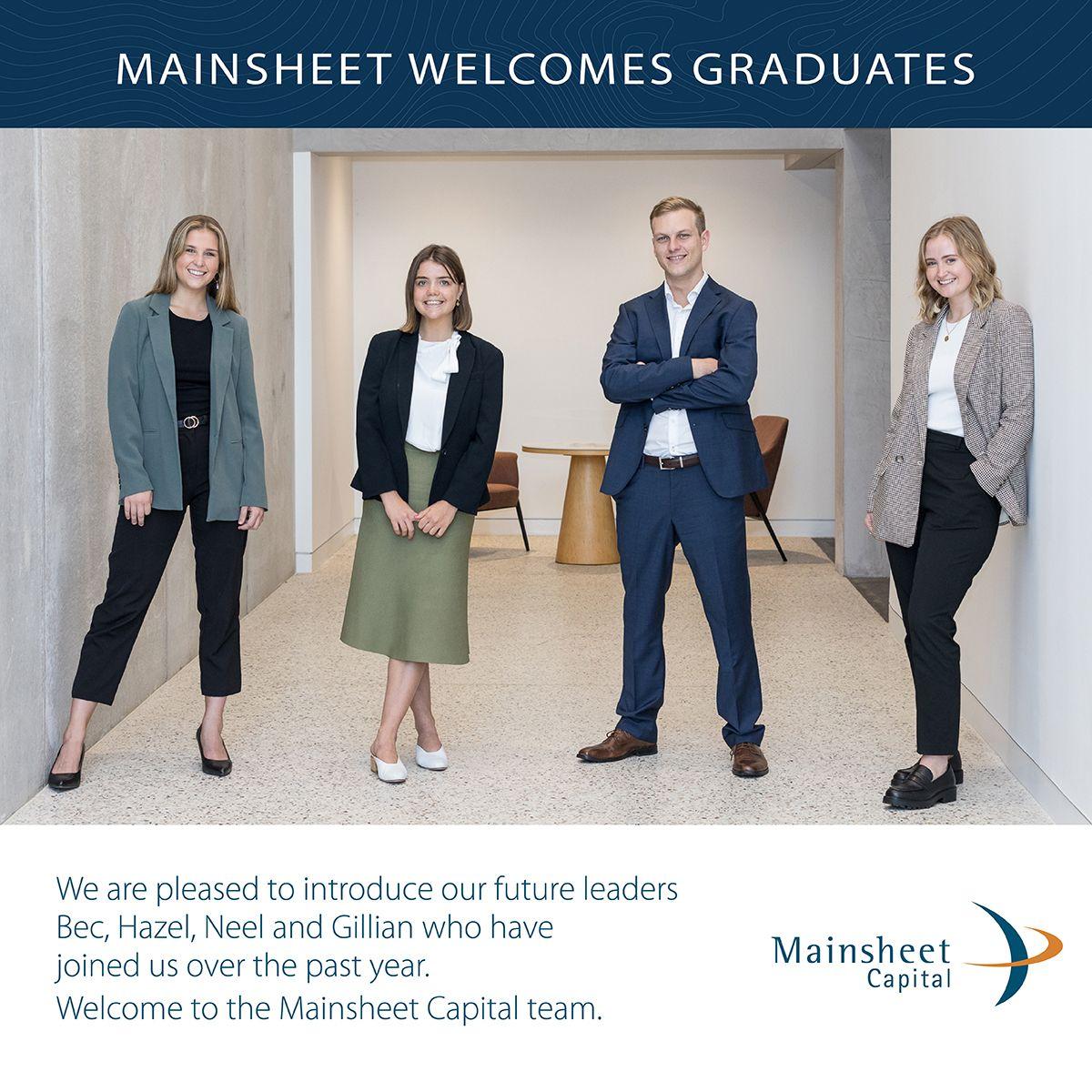 Mainsheet welcomes new Graduates